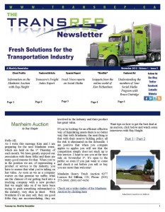 Transrep Newsletters